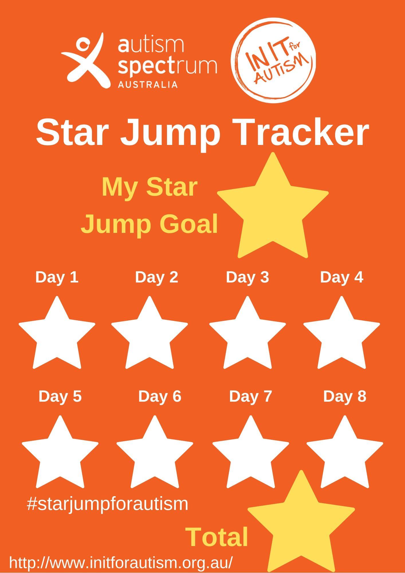 Star Jump Challenge Tracker