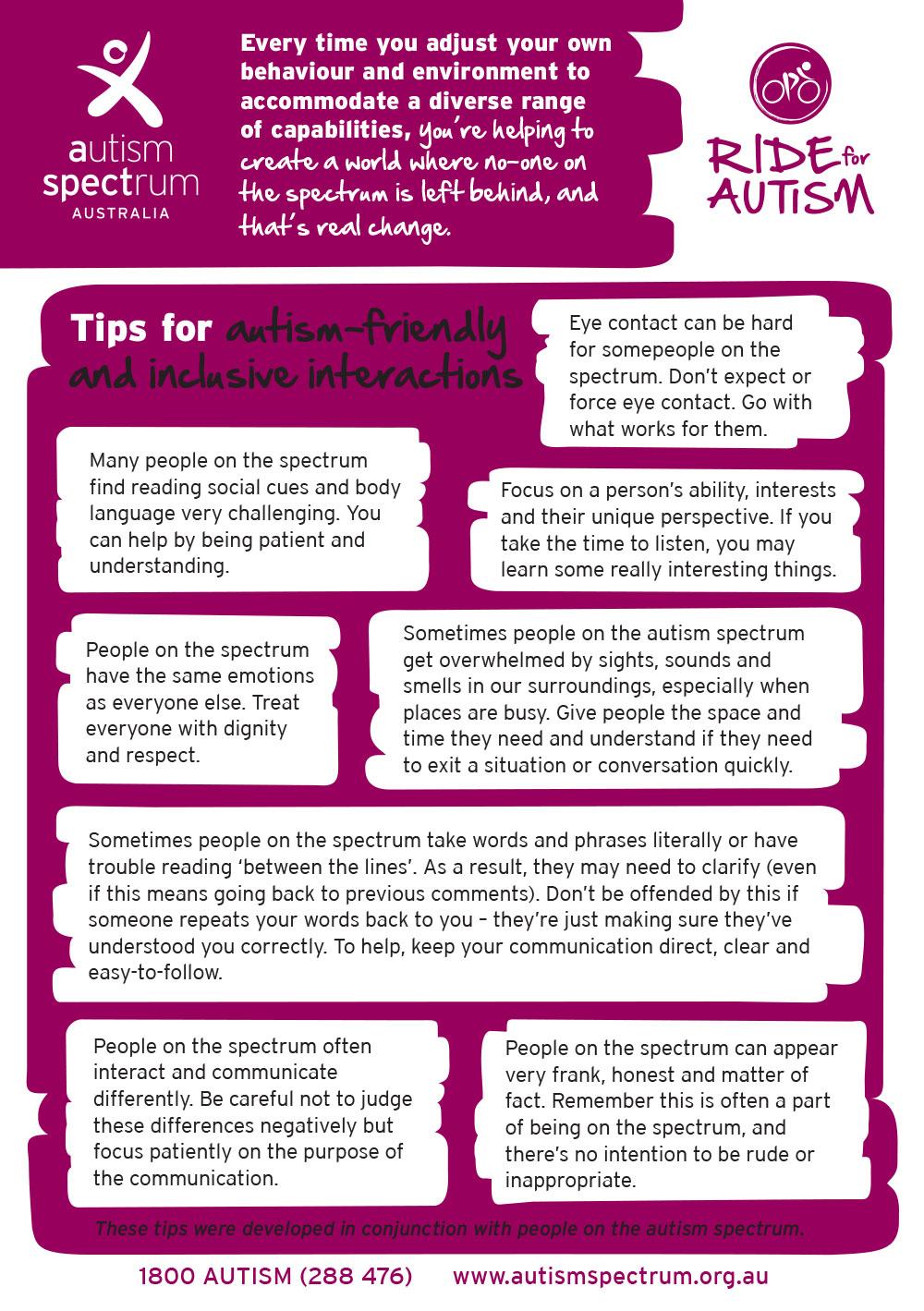 RFA Tips Sheet