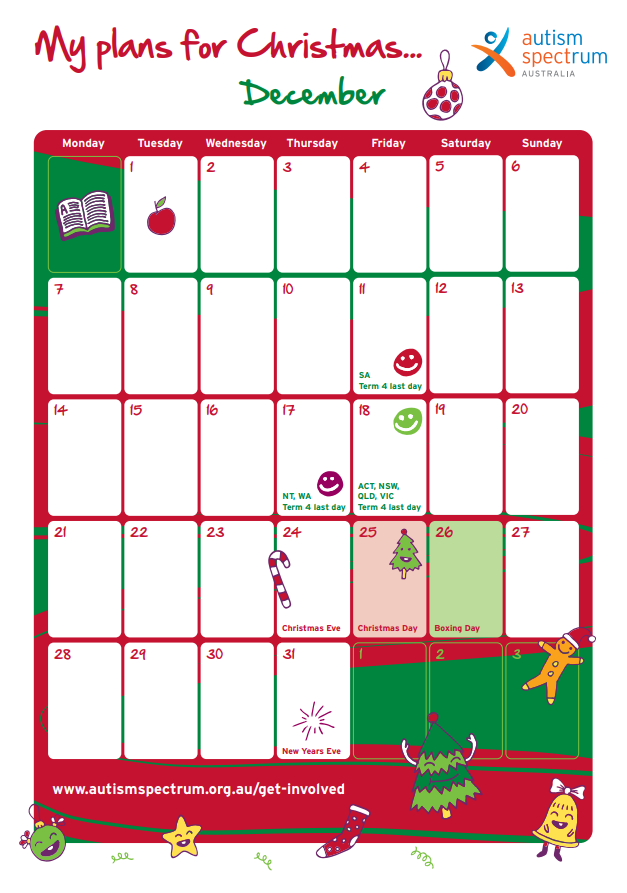 Aspect 2020 Holiday Planner